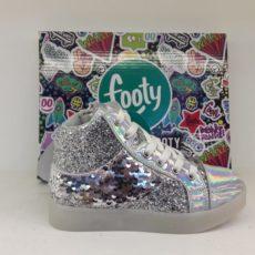 Bota Metalizada para Nena Footy Calzados para Niños Tienda Online en Argentina